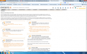 Evolve IP OSSmosis Personal Portal